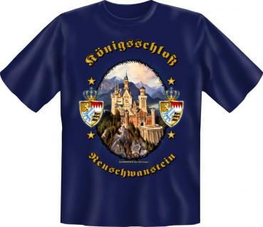 Bayern T-Shirt - Königsschloss Neuschwanstein