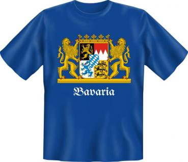 Bayern T-Shirt - Wappen Bavaria