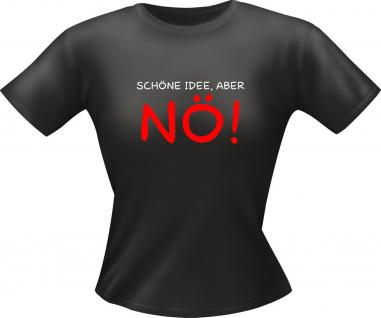 Lady Shirt - Schöne Idee , aber NÖ - Vorschau