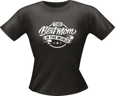 Lady T-Shirt - Best Mom in the World