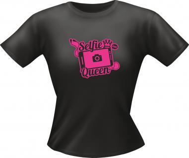 Girlie T-Shirt - Selfie Queen - Vorschau