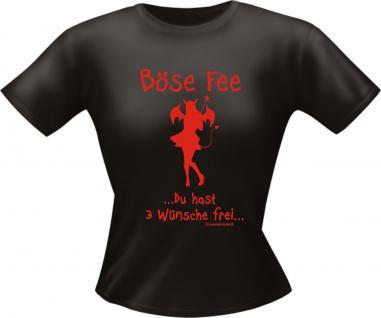 Girls Fasching T-Shirt - Böse Fee Karneval