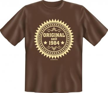 Geburtstag T-Shirt - Original seit 1984 - Vorschau
