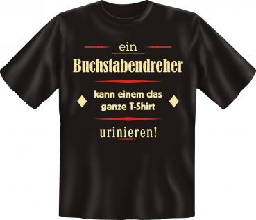 Fun T-Shirt - Buchstabendreher