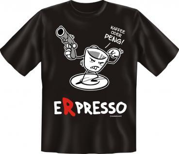 T-Shirt - Erpresso Espresso - Vorschau
