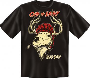 T-Shirt - Ois is Easy Bayern Hirsch