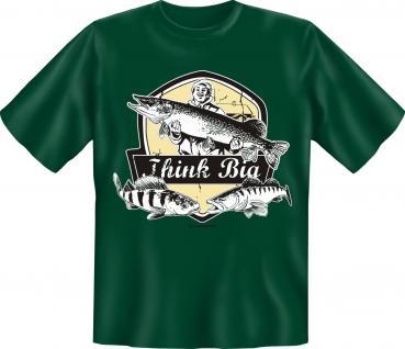 Angler T-Shirt - Think Big Angel Shirt