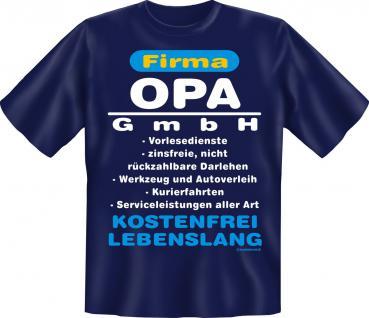 Geburtstag T-Shirt - Opa GmbH - Vorschau