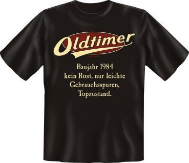 Geburtstag T-Shirt - Oldtimer Baujahr 1984