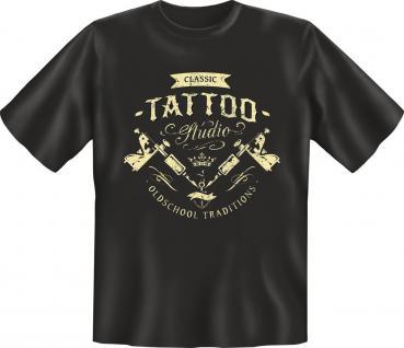 Retro T-Shirt Classic Tattoo Studio Geburtstag Geschenk Shirt geil bedruckt