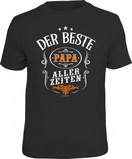 lustiges Geburtstag T-Shirt - Der beste Papa aller Zeiten Herren Shirt Geschenk