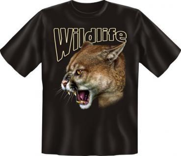 Fun Collection T-Shirt Wildlife Natur Tiere Shirts Geschenk Auswahl bedruckt - Vorschau 2