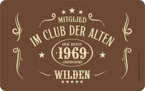 Frühstücksbrettchen - 1969 - Der beste Jahrgang Alte Wilde - Geburtstagsgeschenk