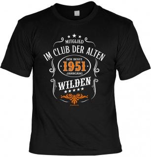 Geburtstag T-Shirt - 70 Jahre - 1951 - Der beste Jahrgang - Fun Shirt Geschenk