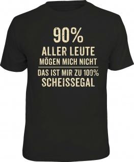 Herren T-Shirt - 100 Prozent scheissegal - lustige Geschenke Männer Fun-Shirts