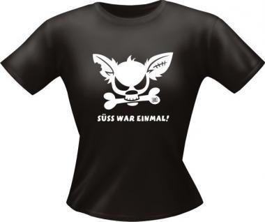 Fun Collection Lady-Shirts Girlie Shirt Geschenk Auswahl T-Shirt geil bedruckt - Vorschau 2