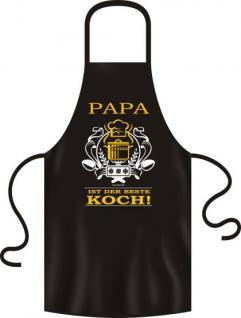 Küchenschürze - Papa ist der beste Koch