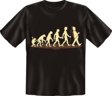geil bedrucktes Jagd Fun T-Shirt Shirts - Evolution Jäger - Geburtstag Geschenk