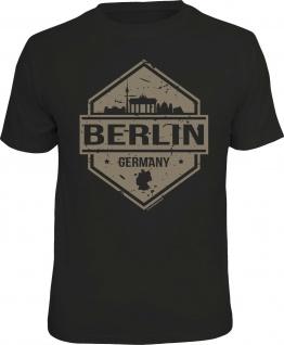 Herren T-Shirt bedruckt - Berlin Germany - lustige Geschenke für Männer