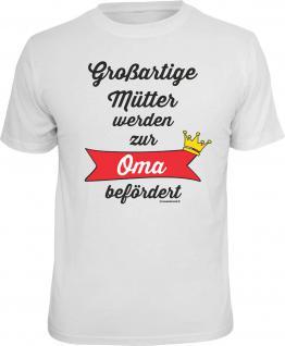 Geburtstag T-Shirt Großartige Mutter zur Oma Muttertag Shirt Geschenk bedruckt