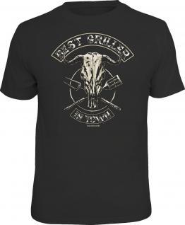 Grill T-Shirt Best Griller in Town Shirt bedruckt Geburtstag Geschenk bedruckt