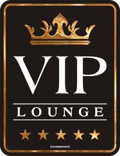 Schilder - VIP Lounge