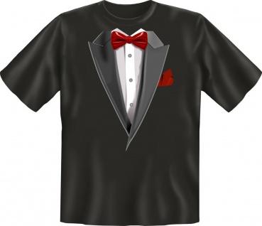 Fun T-Shirt Smoking Fasching Karneval Jux Party Shirt Geschenk geil bedruckt