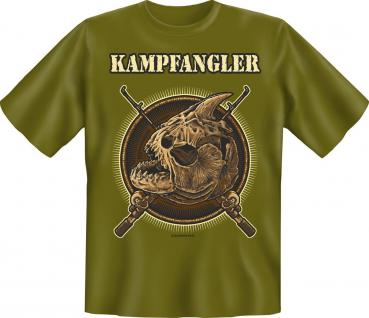 Angler Geburtstag T-Shirt Kampfangler Angel Shirt Geschenk geil bedruckt