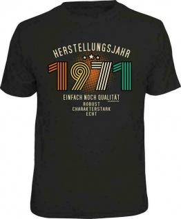 Geburtstag T-Shirt - 50 Jahre Herstellungsjahr 1971 - Sprüche T Shirt Geschenk