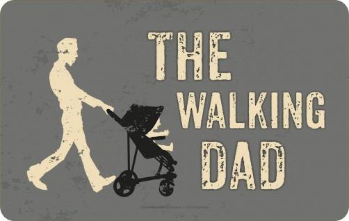 Frühstücksbrettchen - The Walking Dad - Vatertag Geburtstag Geschenk Brettchen