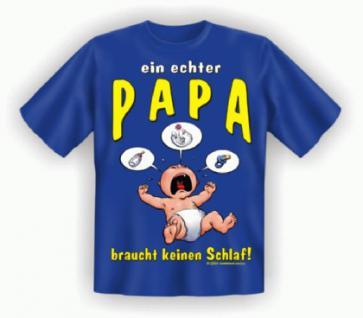 Fun T-Shirt - Echter Papa