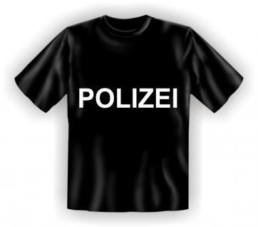T-Shirt - Polizei