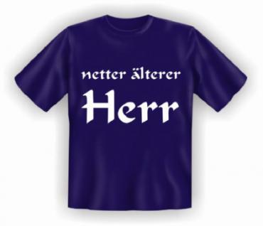 Geburtstag T-Shirt - netter älterer Herr