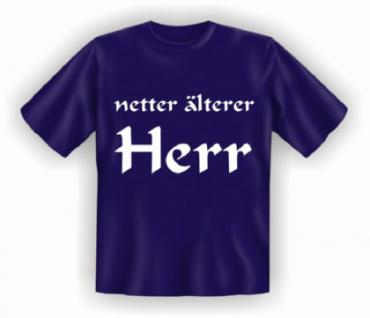 Geburtstag T-Shirt - netter älterer Herr - Vorschau