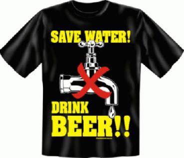 Fun T-Shirt - Drink Beer