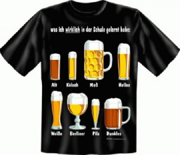 T-Shirt - Bier Schule