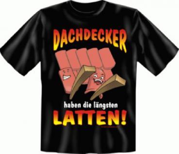 Fun T-Shirt - Dachdecker