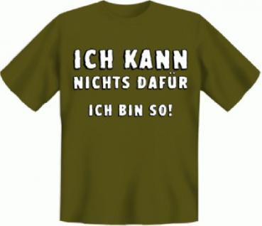 T-Shirt - Ich bin so - Vorschau