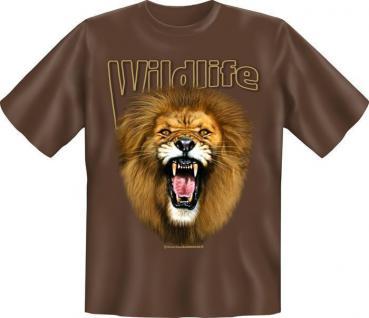Fun Collection T-Shirt Wildlife Natur Tiere Shirts Geschenk Auswahl bedruckt - Vorschau 5