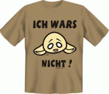Fun T-Shirt - Ich war's nicht - Vorschau