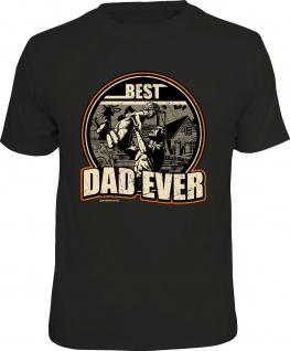 Geburtstags-Shirt - Best Dad ever - lustige T-Shirts Herren Vatertag Geschenk