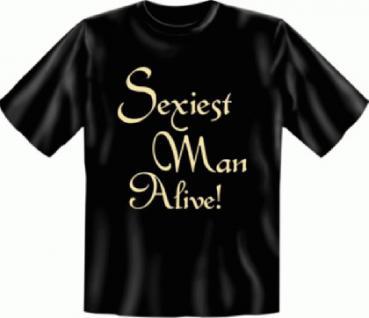 Geburtstag T-Shirt - Sexiest Man