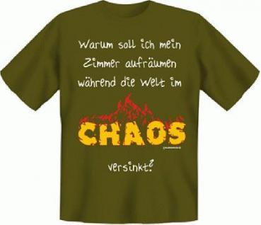T-Shirt - Die Welt im Chaos - Vorschau