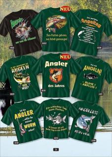 Fun Collection T-Shirt Angel Angeln Angler Shirt Geschenk Köder Auswahl bedruckt