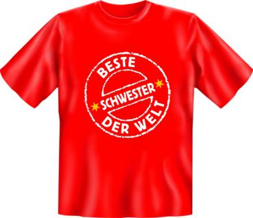 Geburtstag T-Shirt - Beste Schwester der Welt