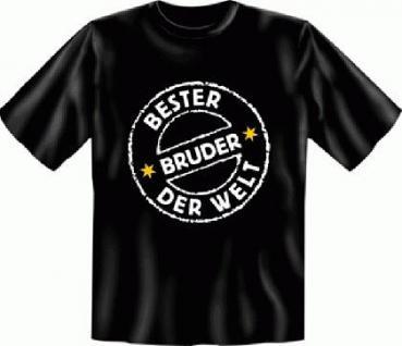 Geburtstag T-Shirt - Bester Bruder der Welt - Vorschau