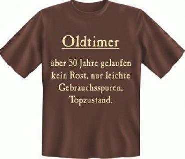Geburtstag T-Shirt - Oldtimer 50