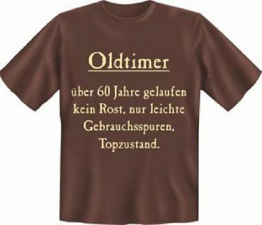 Geburtstag T-Shirt - Oldtimer 60