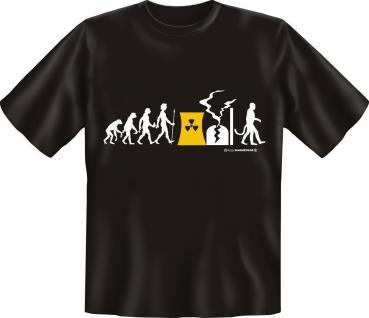 T-Shirt - Evolution KKW AKW - Atom Supergau Fun Shirts Geschenk geil bedruckt