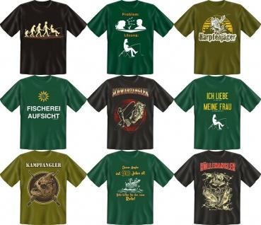 Angler T-Shirt Angel Fisch Fun T Shirt Geburtstag Geschenk Auswahl geil bedruckt